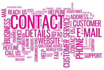Contact Us, Call Us, Email or phone our helpline for support from 4 C Marketing Agency in Hampshire
