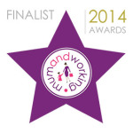 Mum and Working awards finalist logo