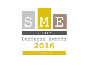 SME Surrey Business Awards Finalist logo